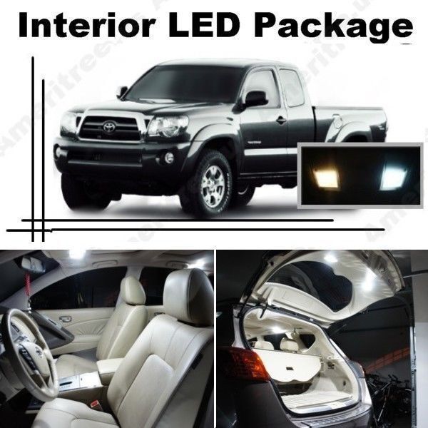 White led lights interior package kit for toyota tacoma - 2013 toyota tacoma interior accessories ...