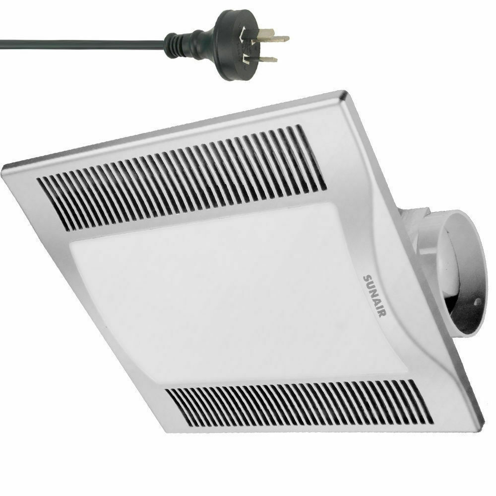 square bathroom exhaust fan with light silver 30cm square 2in1 ceiling light exhaust fan air flow 25774