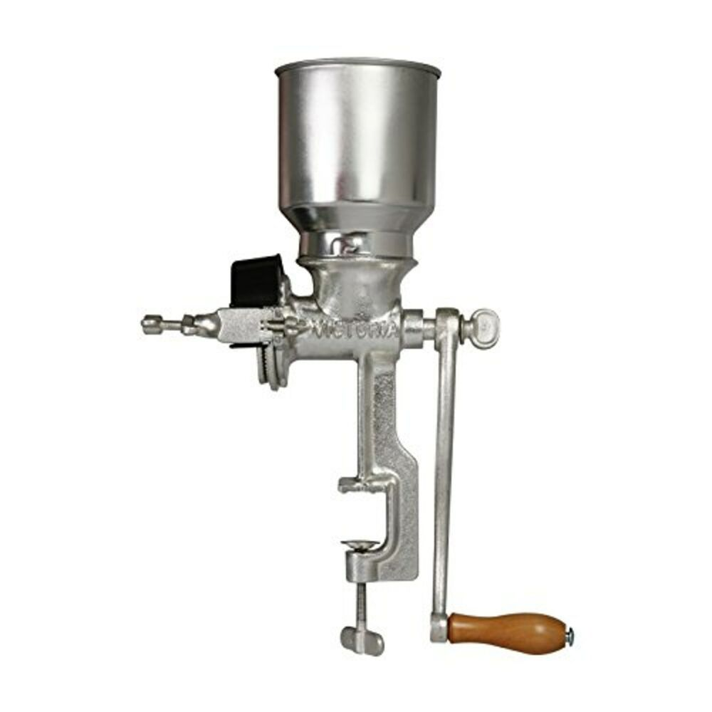 Victoria commercial grade manual grain grinder with high for Table grinder