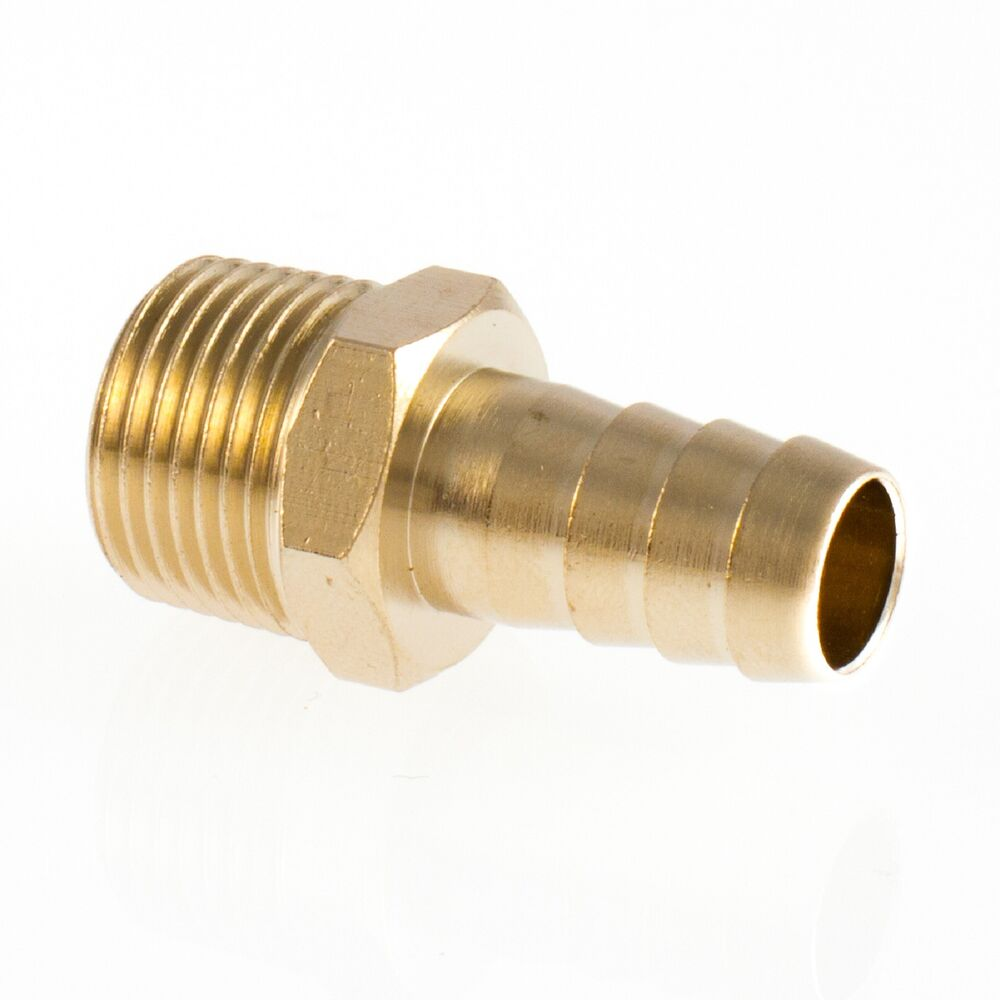 Brass hosetail male bspt fitting hydraulic pneumatic