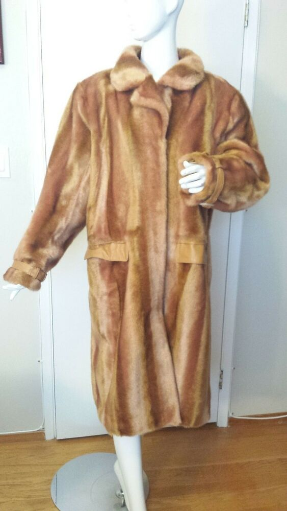 Terry Lewis Classic Luxuries, Camel Brown, Faux Fur, Full ...