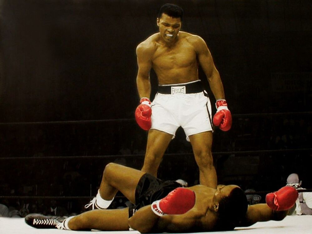 ali vs liston coloring pages - photo#13