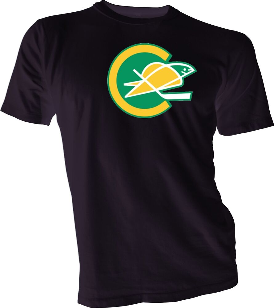 California golden seals defunct nhl hockey vintage style for Retro nhl t shirts