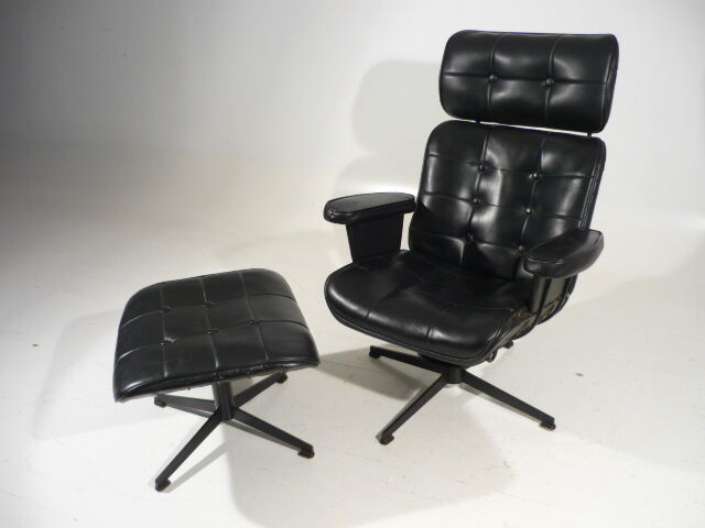 60 39 s mid century modern homecrest wire lounge arm chair w for Designer chairs from the 60s