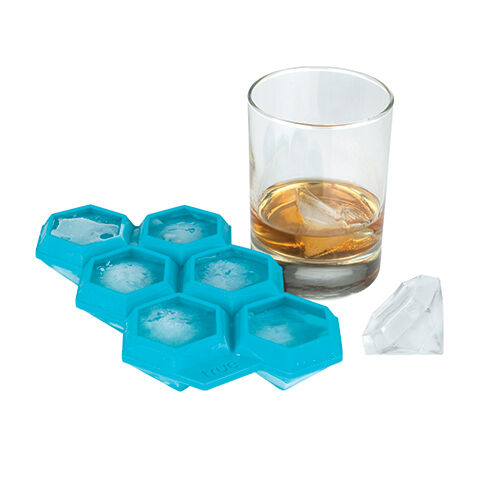 how to use silicone sphere ice cube tray