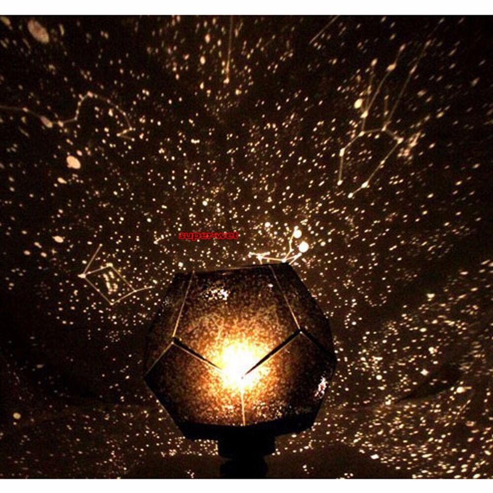 Star Sky Projector Night Light Lamp Romantic Cosmos Astro Galaxy Home Decor New Ebay