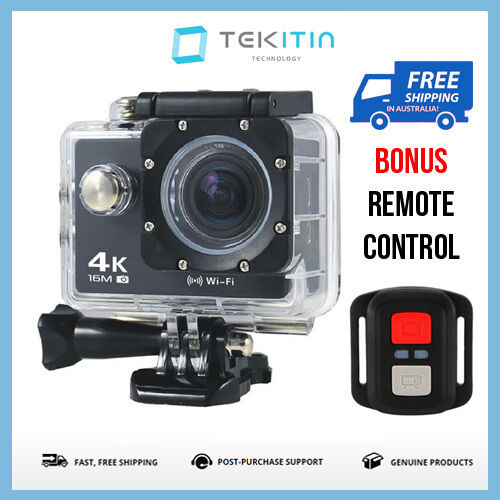 tekcam 4k waterproof wi fi sports action camera cam gopro go pro fit mounts ebay. Black Bedroom Furniture Sets. Home Design Ideas