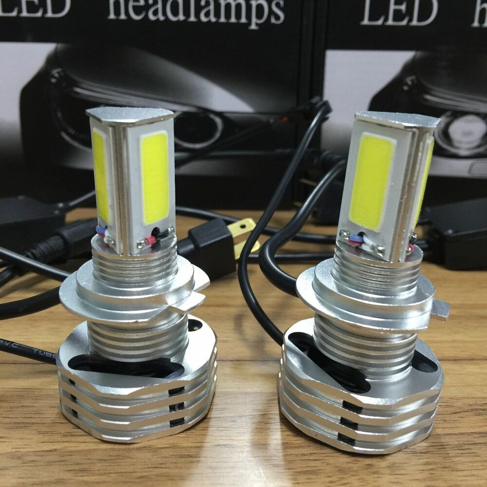 920w cree led headlight kit h7 low beam bulbs 6000k hid white high power ebay. Black Bedroom Furniture Sets. Home Design Ideas