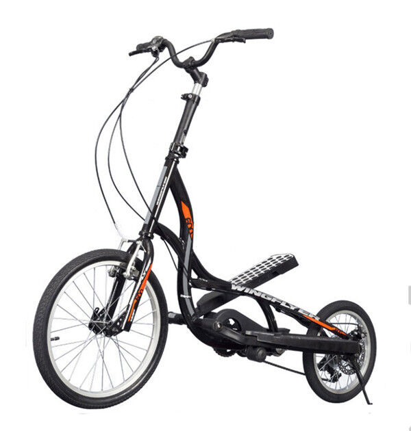 Elliptical Bike Ebay: ZIKE Z600 Wingflyer ELLIPTICAL STEPPER BICYCLE