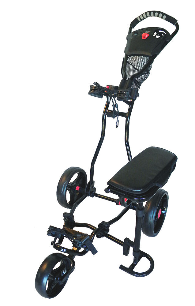 Founders Club Spider 3 Wheel Golf Push Cart With Seat