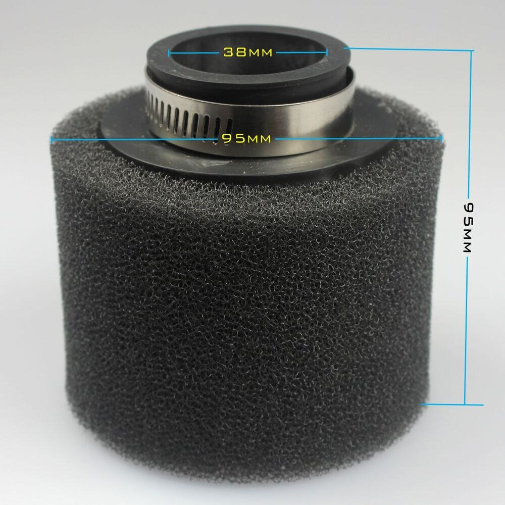 Moped Air Filter : Mm moped scooter foam air filter sponge cleaner cc