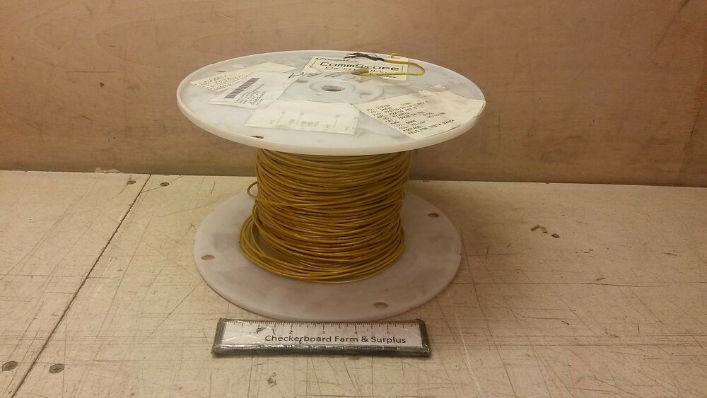 Silver Electrical Cable : Nos electrical wire m  mil w