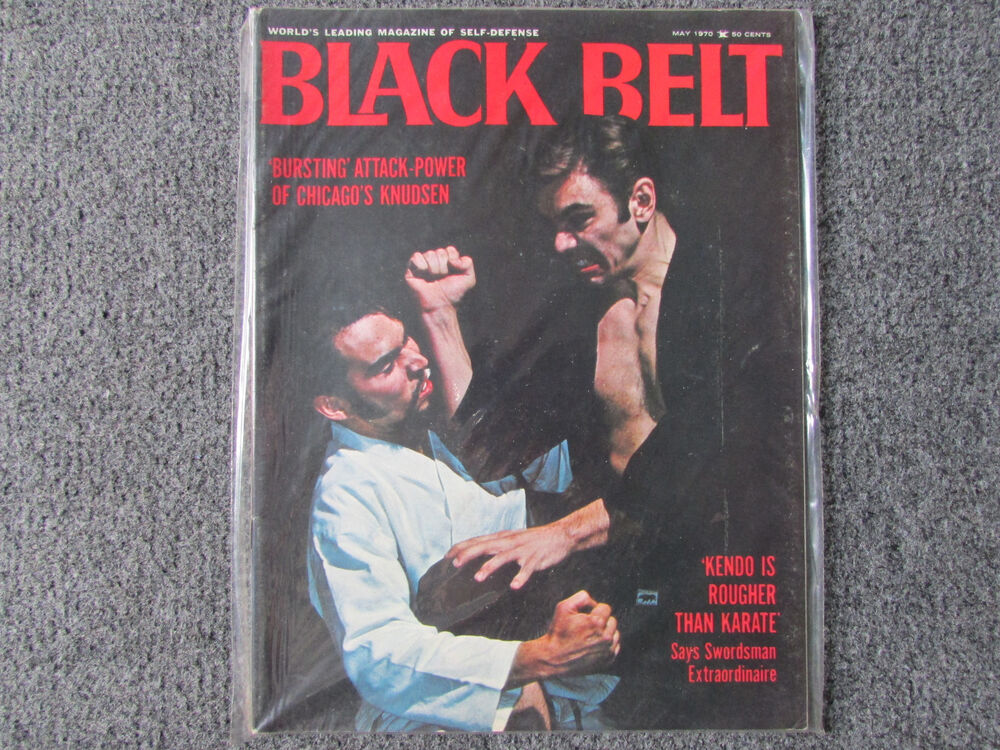 Black Belt Magazine- May, 1970 Back Issue (Rare, New and ...