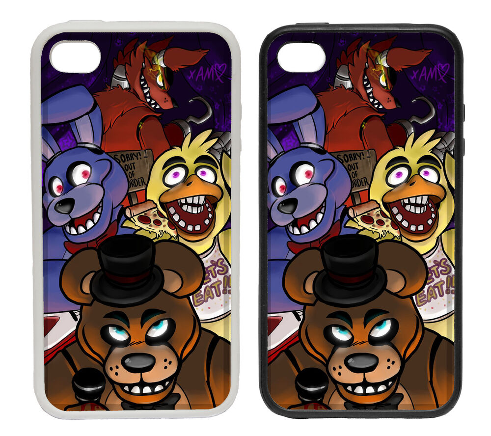 Five Nights At Freddy S Fan Art Rubber And Plastic Phone