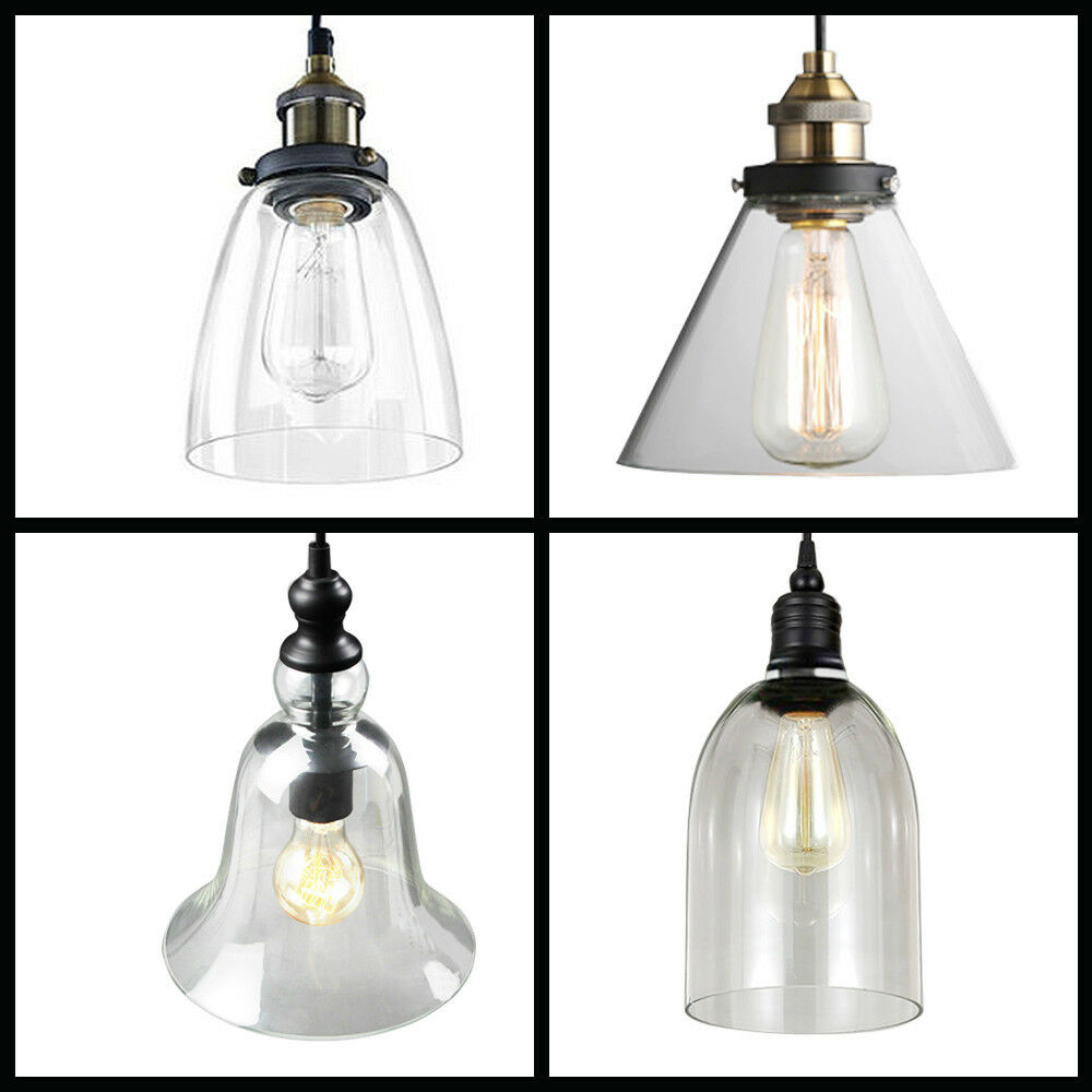 Vintage Industrial Pendant Lighting E27 Edison Ceiling