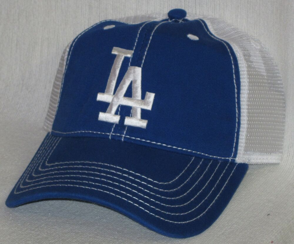 los angeles dodgers cap hat classic mlb patch logo