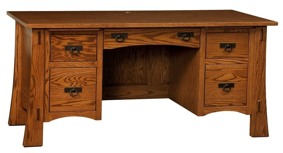 Amish Mission Arts Amp Crafts Computer Desk Executive