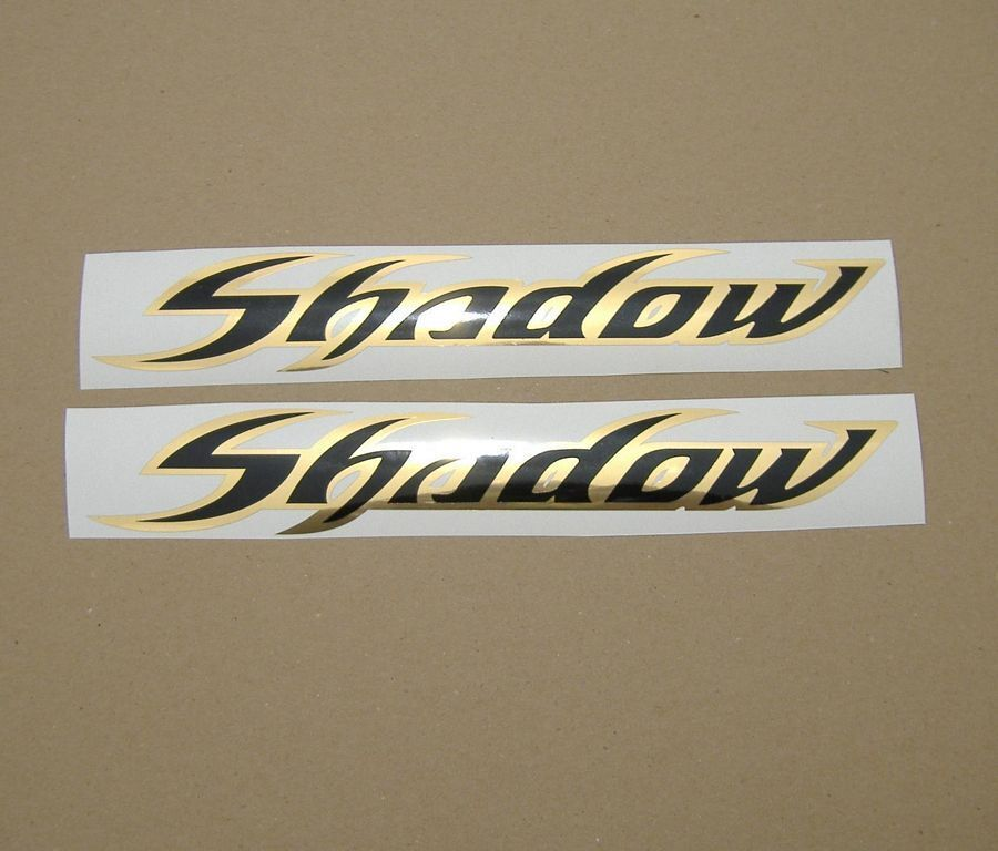 Honda Shadow Motorcycle Chrome Decals
