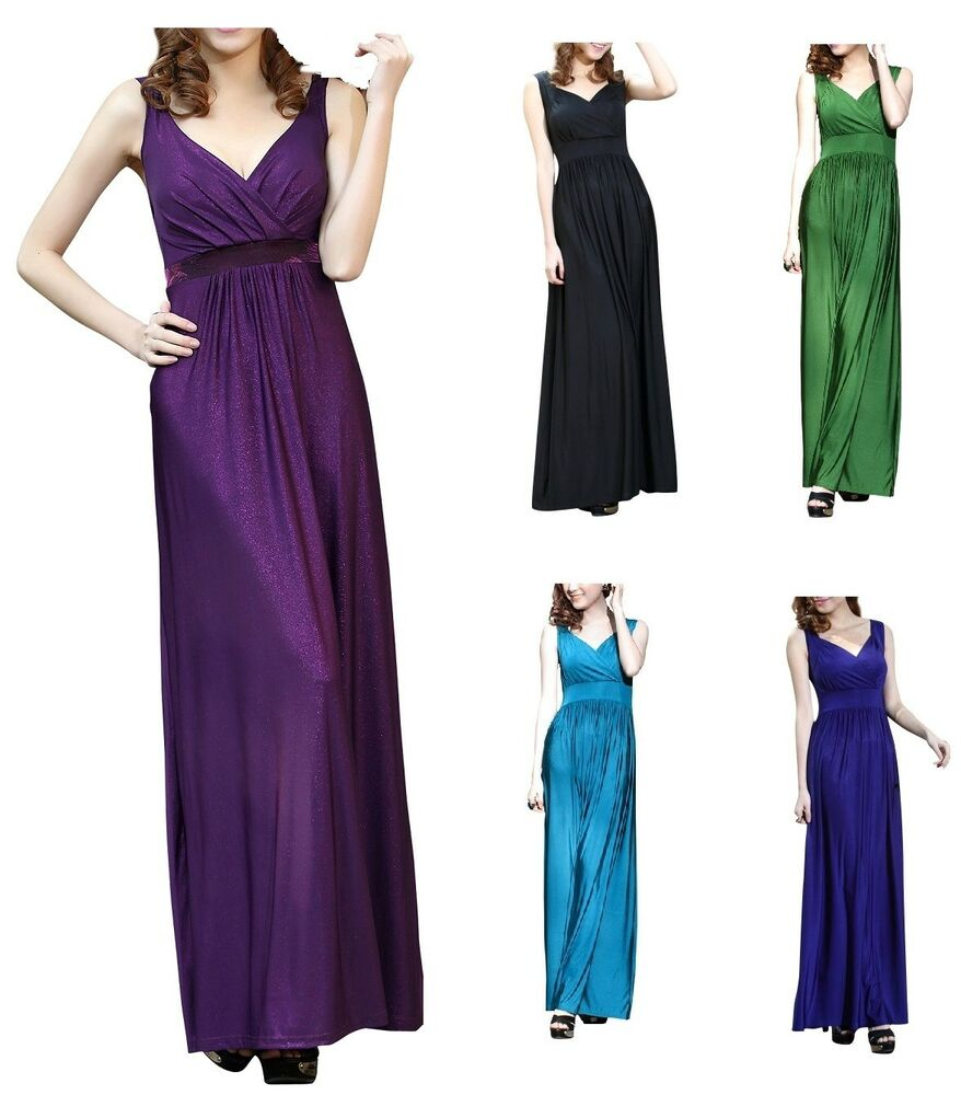 Maternity Evening dress Baby Shower Wedding Party Gown 8