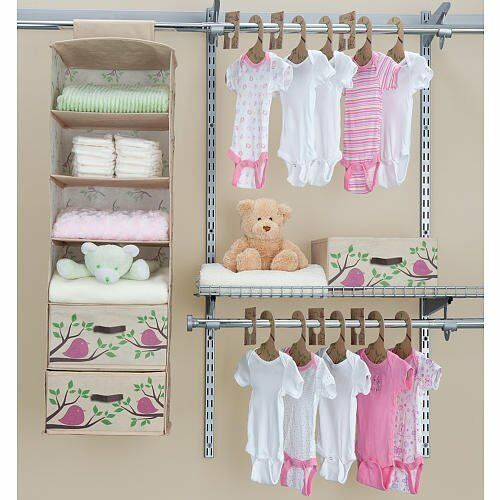 baby infant child bedroom bed room closet organizer 87365