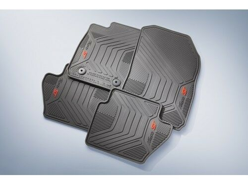 Ford Fiesta St Floor Mats All Weather Thermoplastic Rubber