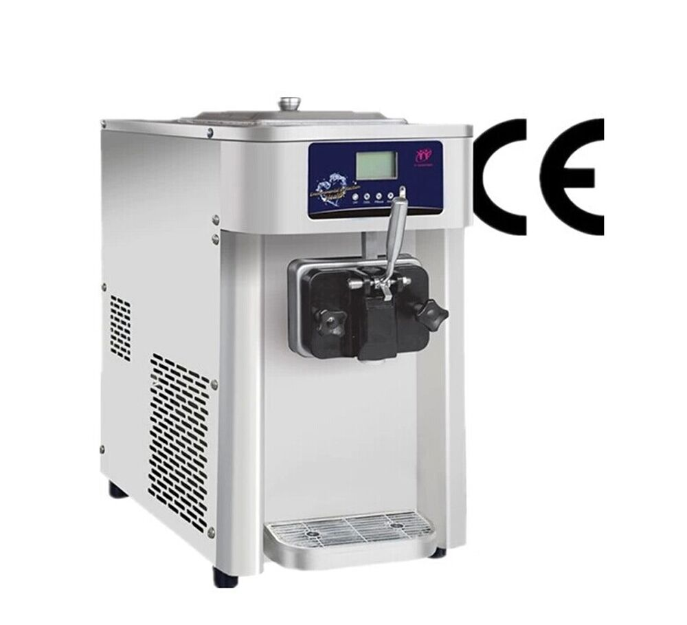 commercial single flavor 12l soft ice cream machine frozen yogurt machine ebay. Black Bedroom Furniture Sets. Home Design Ideas