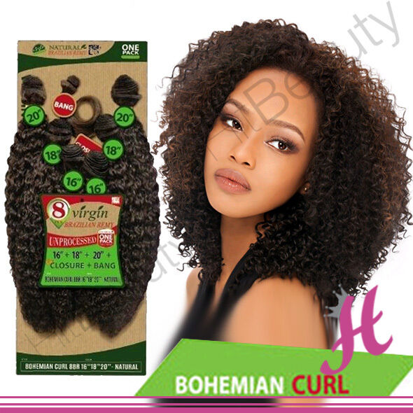 100 Brazilian Virgin Remy Human Hair Bundle Bohemian Curl
