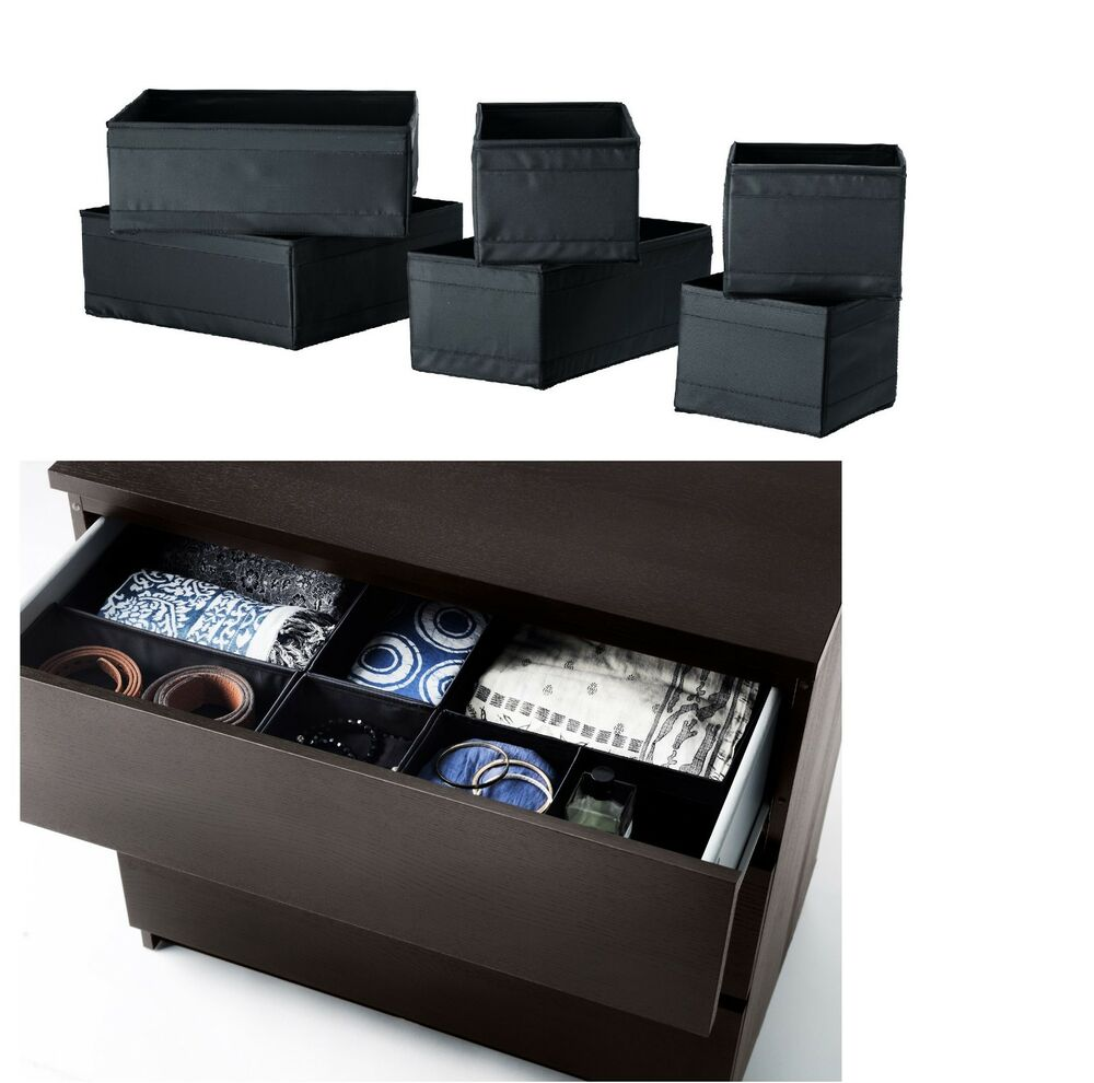 NEW Ikea Skubb Storage Box,drawer Organizer,divider BLACK ...