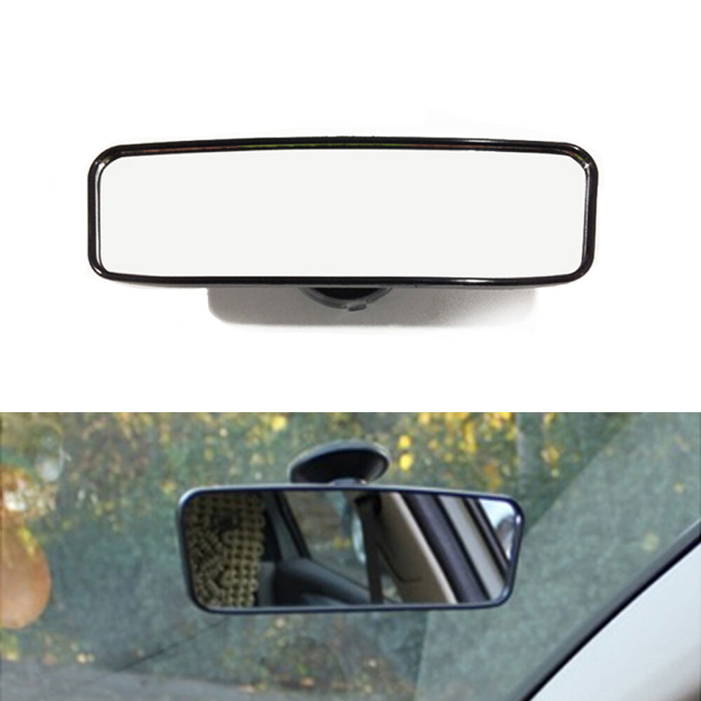 universal car truck mirror interior rear view mirror suction rearview mirror new ebay. Black Bedroom Furniture Sets. Home Design Ideas
