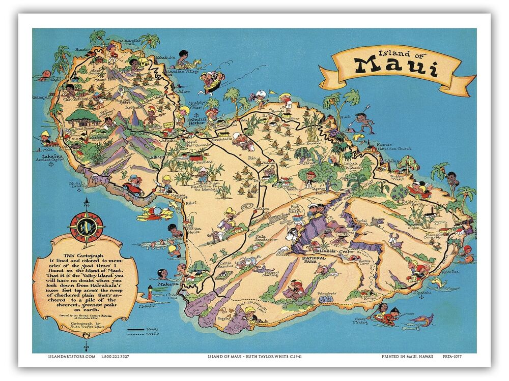 This is a photo of Satisfactory Printable Map of Hawaii