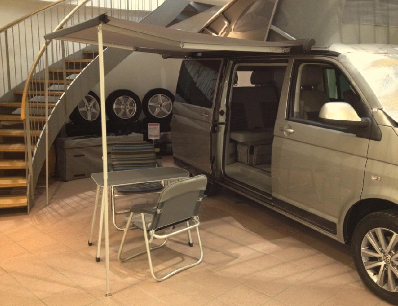 vw t5 t6 bus california beach markise mit anbauteilen original wie ab werk neu ebay. Black Bedroom Furniture Sets. Home Design Ideas