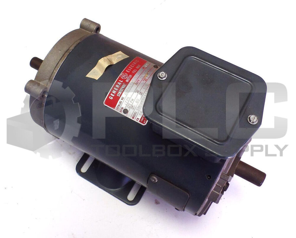 New ge general electric motor 6vfm1050j111 hp 1 2 rpm 1725 for Ge motors industrial systems