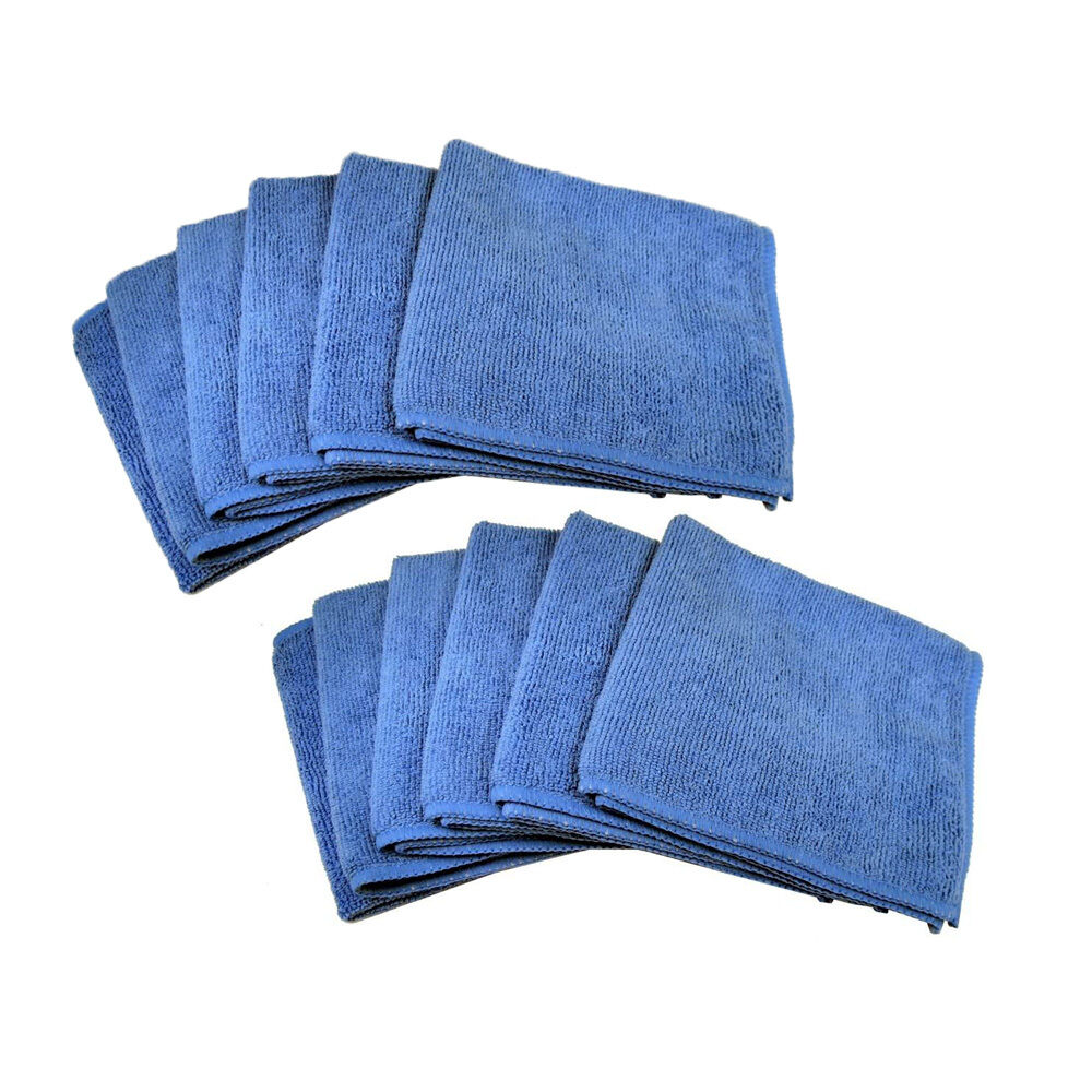 12 Microfiber Towel Cleaning Cloth For LED TV Computer