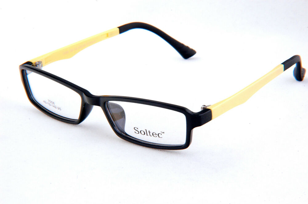 eyeglasses frames frame glasses black yellow