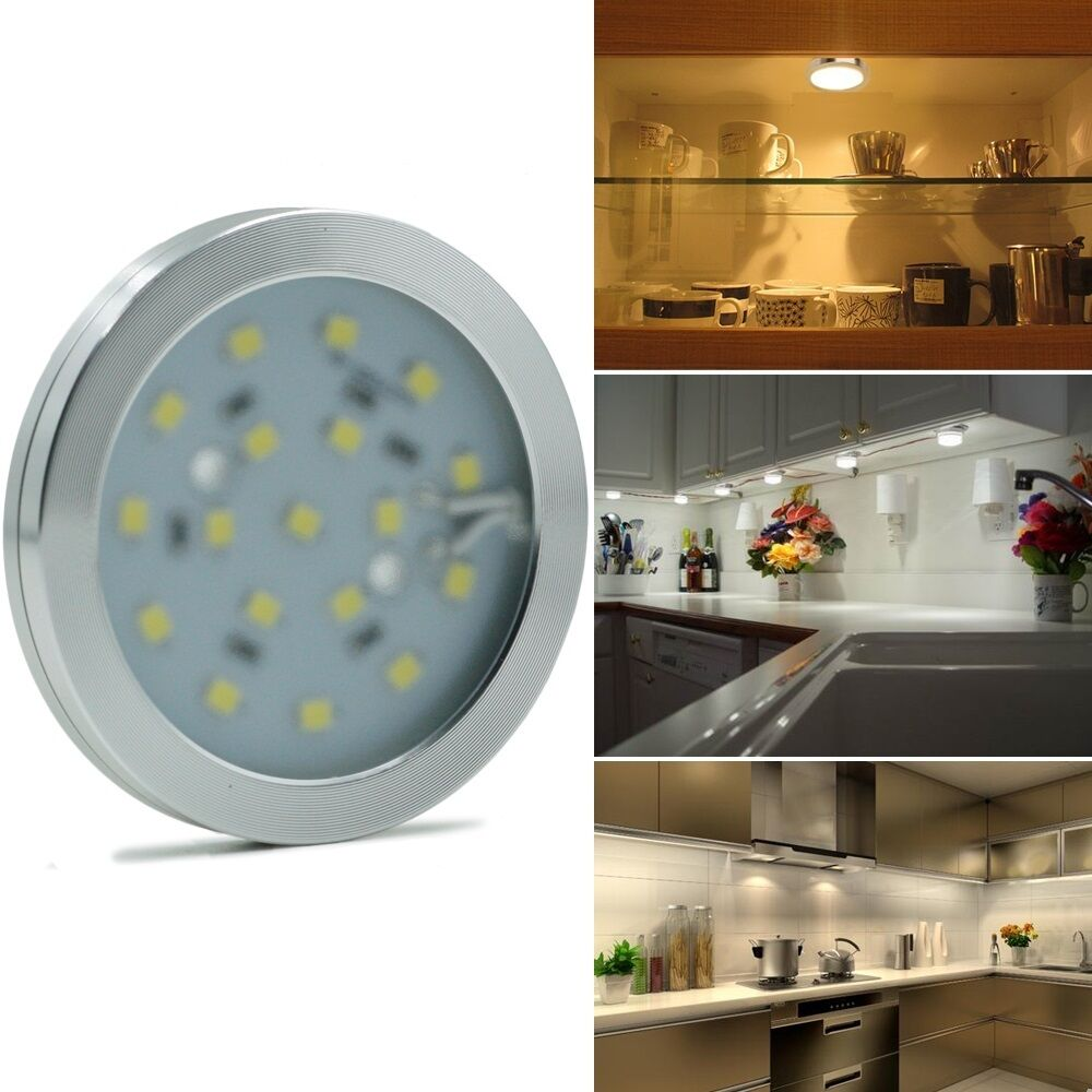 Led Lights For Kitchen Wall Units : 2pcs Ultra thin 6W/10W LED kitchen cabinets ceiling/wall light lamp with driver eBay