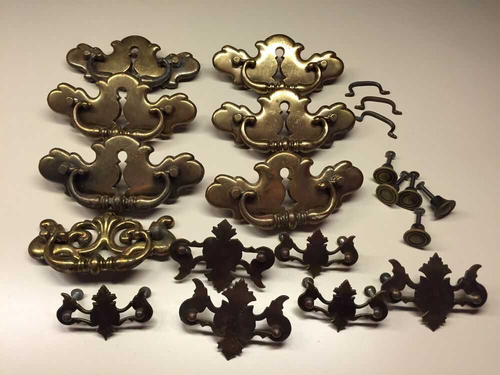 Collectible Decorative Brass Drawer Pulls Handles Knob