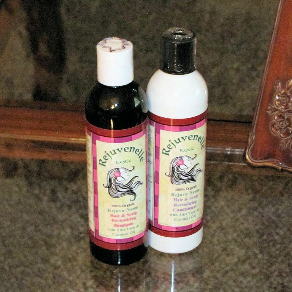NATURAL SCALP SHAMPOO & CONDITIONER For Baldness HAIR LOSS ...