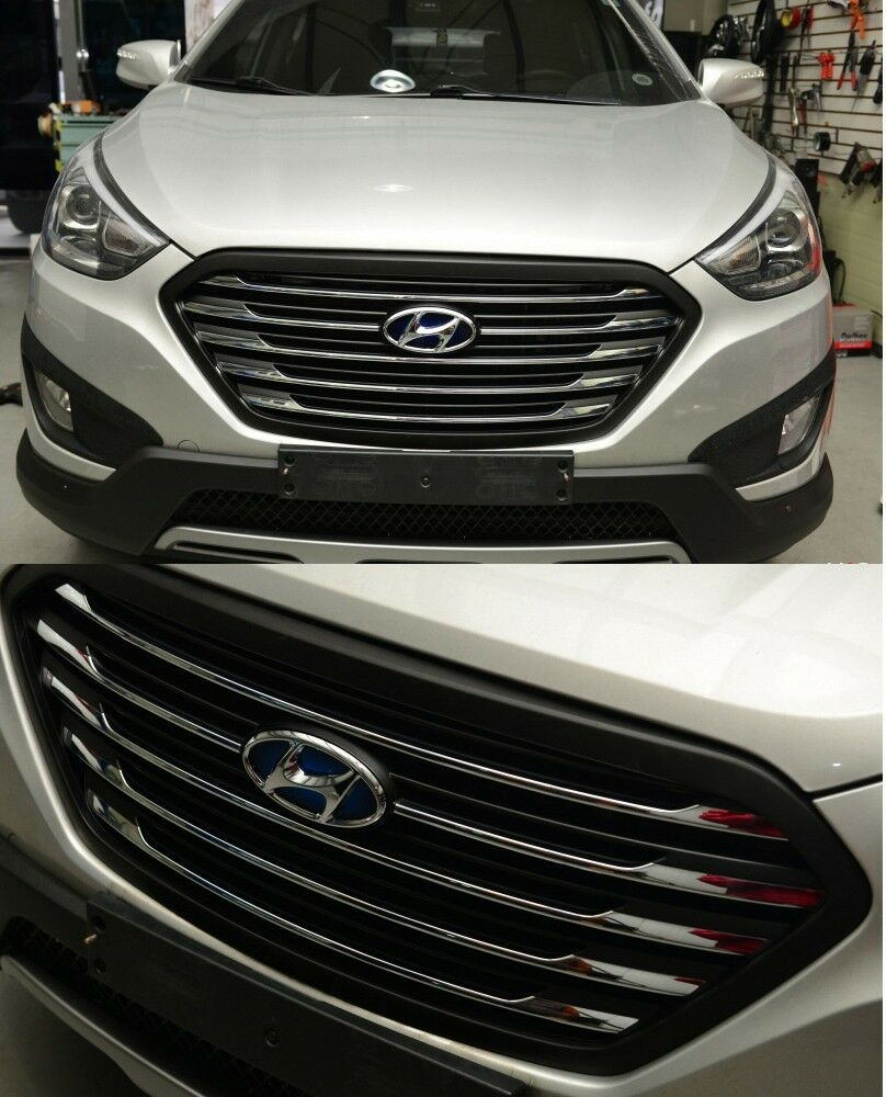 2013 Hyundai Tucson: Genuine Fuel Cell Radiator Grille Fit 4p 1Set For Hyundai