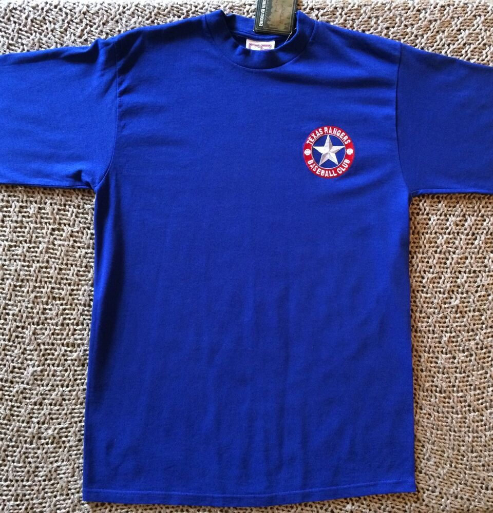 Vintage new 1994 texas rangers logo mlb baseball mock neck for Texas baseball t shirt