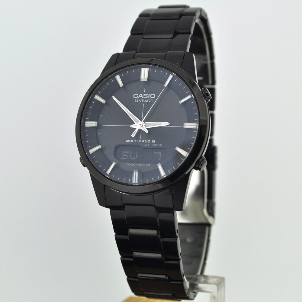 New casio lineage lcw m170db 1ajf tough solar men 39 s watch multiband6 f s japan ebay for Watches of japan