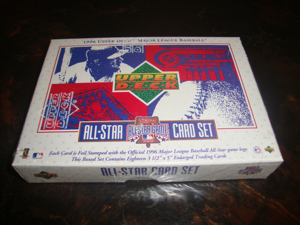 1996 Upper Deck Baseball All Star Game Card Set 18