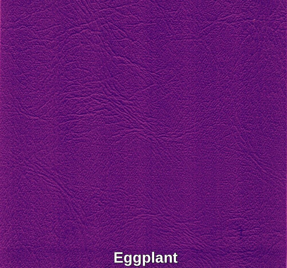 vinyl upholstery faux leather marine waterproof eggplant 54 inch fabric bty ebay. Black Bedroom Furniture Sets. Home Design Ideas