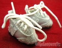 Blythe/Pullip Shoes Micro N Sneakers Leather S Silver/S