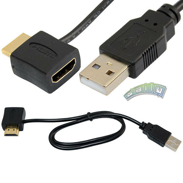 50cm hdmi male to female connector usb 2 0 male charger. Black Bedroom Furniture Sets. Home Design Ideas