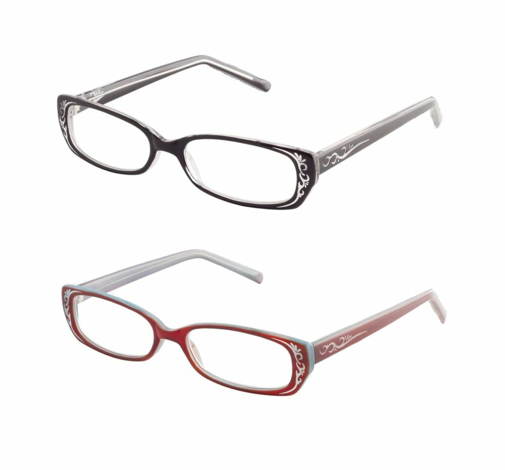 icu eyewear etched scroll s reading glasses black