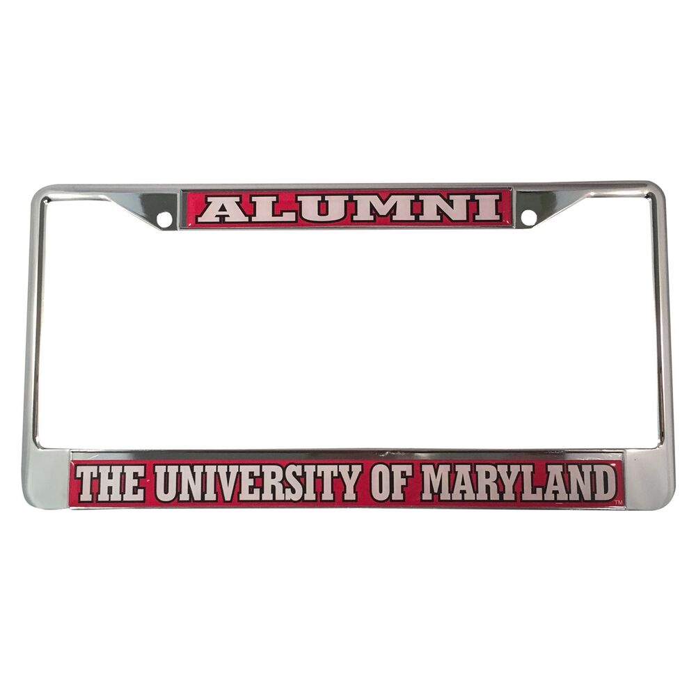 University Of Maryland Terrapins Alumni License Plate