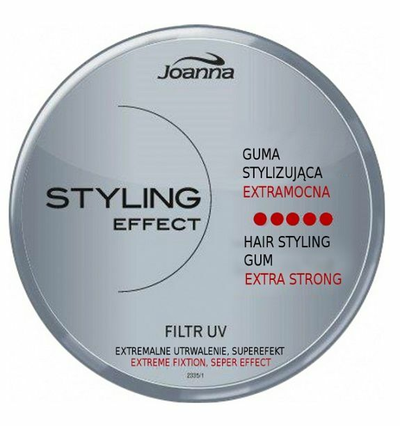 Hair Styling Gum: JOANNA STYLING EFFECT HAIR GUM EXTRA STRONG UV EXTREME
