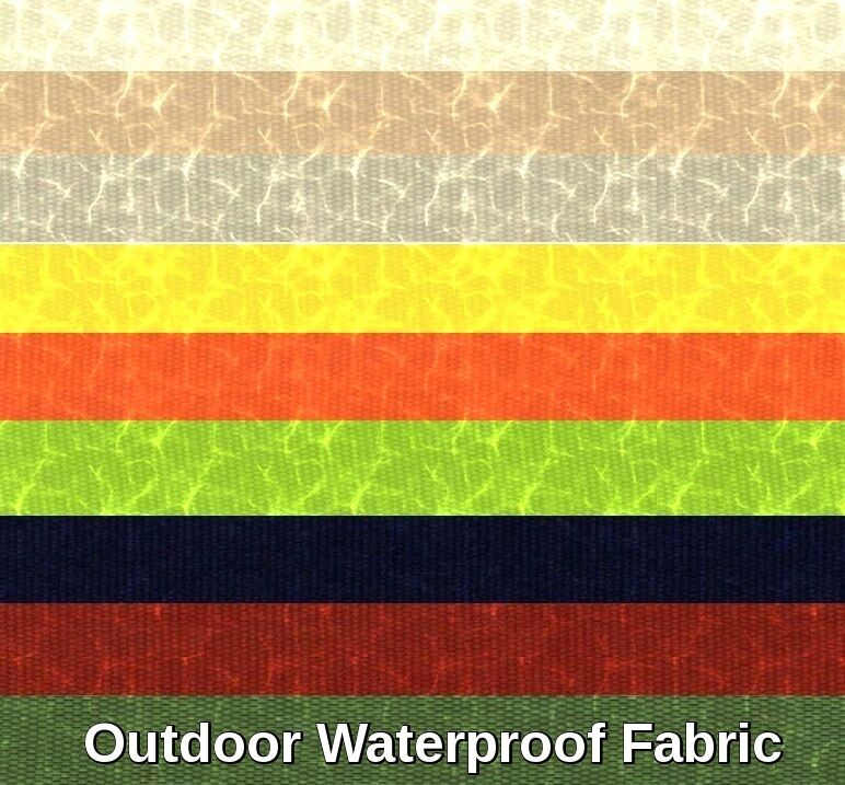 outdoor upholstery waterproof anti uv outdoor soft solid canvas fabric 60 bty ebay. Black Bedroom Furniture Sets. Home Design Ideas