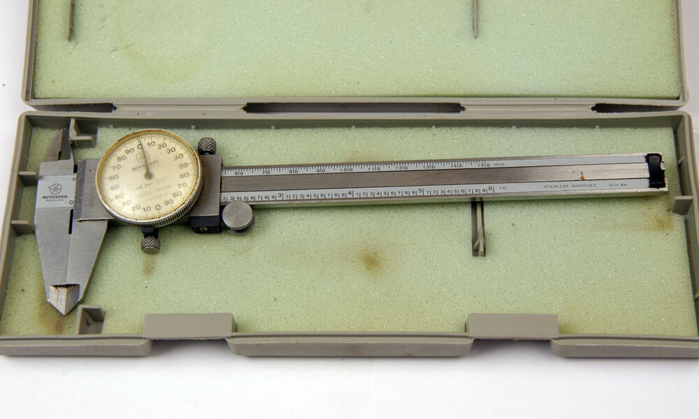 calipers mitutoyo dial inch