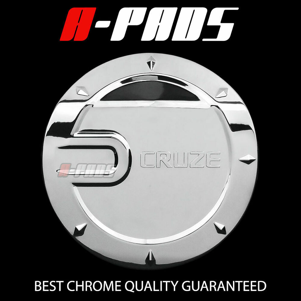 for chevy cruze 2008 2013 chrome gas tank fuel door cover ebay. Black Bedroom Furniture Sets. Home Design Ideas